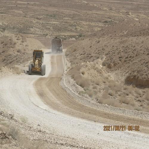 عملیات تسطیح و و بهسازی مسیر تفرجگاه تنگه گزی