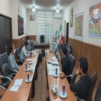 برگزاری جلسه کارگروه بزرگداشت چهلمین سالگرد دفاع مقدس شهرداری جاجرم